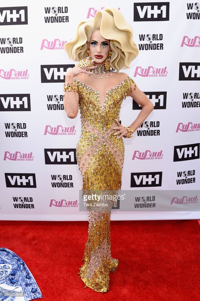Cynthia Lee Fontaine Arrives At RuPauls Drag Race Season 9 Finale Taping Alex