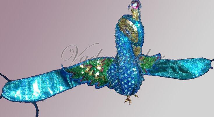 Peacock Headwear head accessories Mayil Girls Indian Fancy Dress