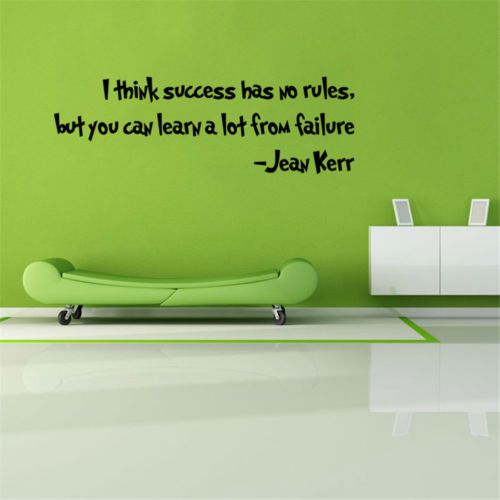 I-Think-Success-Has-No-Rules-But-You-Can-Learn-A-Lot-From-Failure-Wall-Sticker