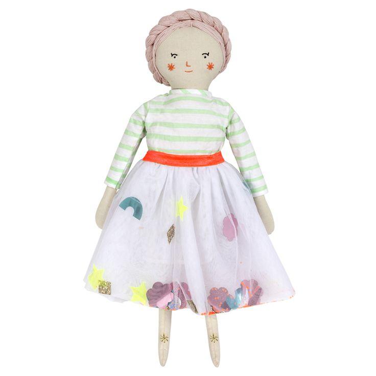 Matilda Fabric #Doll #speelgoed #pop   Meri Meri