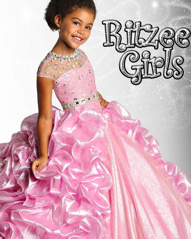 88 best girls pageant dresses images on Pinterest | Bohemian flower ...