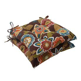 Pillow Perfect Annie Multicolored Floral Seat Pad For Universal 499994