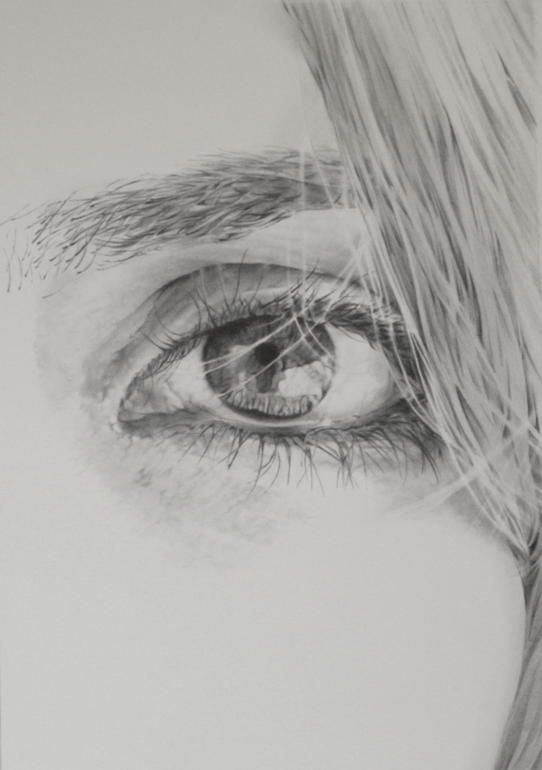 "Saatchi Online Artist: james baldwin; Pencil, 2010, Drawing ""Suzanne"""