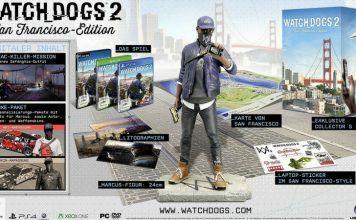 [Angebot] Watch_Dogs 2  San Francisco Edition  Playstation 4 für 5017 und Xbox One für 5521