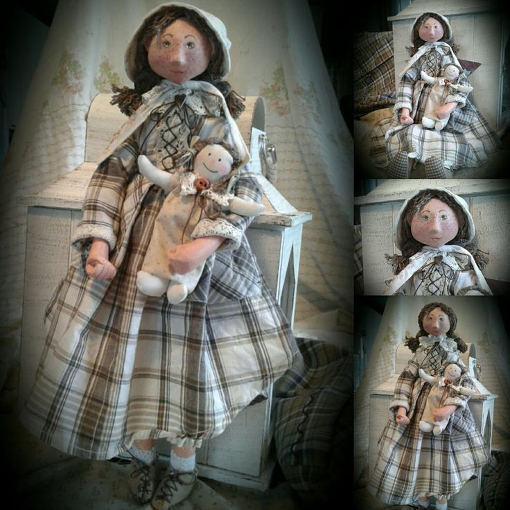 Ooak doll Matilda by Rustiikkitupa on Etsy