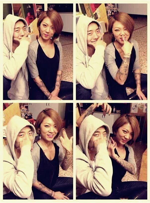 Bang & Noona Bang. Good Looks Run In The Family