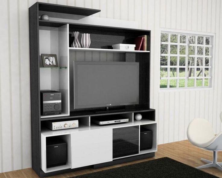 Un mueble para el televisor moderno practico y barato - Mueble ocultar tv ...