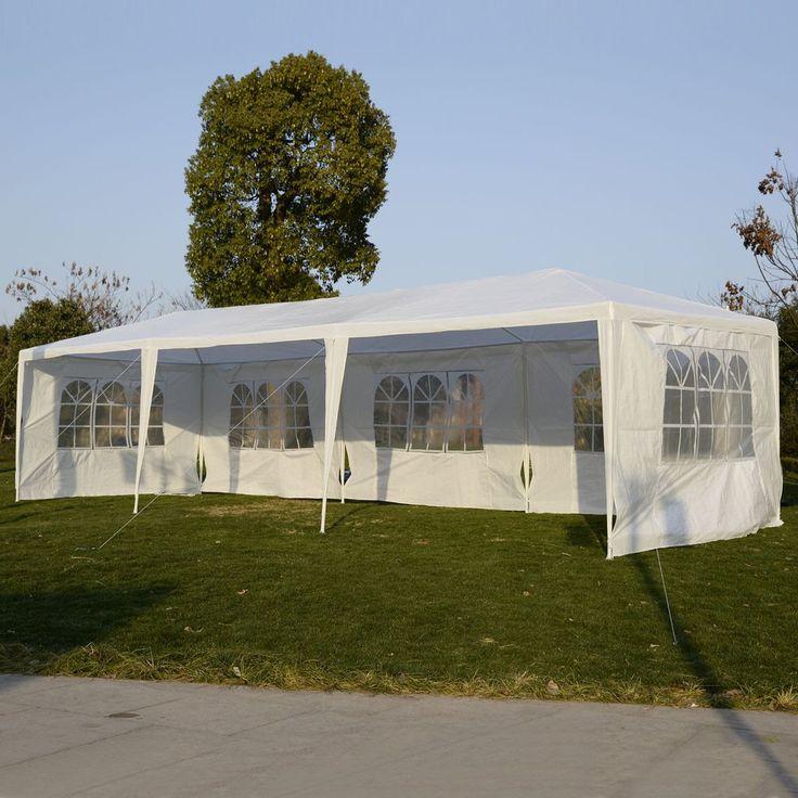 10'x30' Party Wedding Outdoor Patio Tent Canopy Heavy duty Gazebo Pavi – Vick's Great Deals