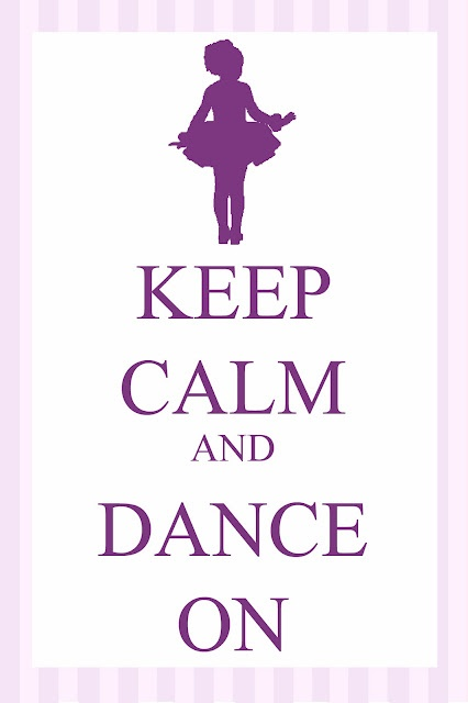 link for free printable #ballerina party
