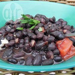 Rezeptbild: Schwarze Bohnen auf kubanische Art
