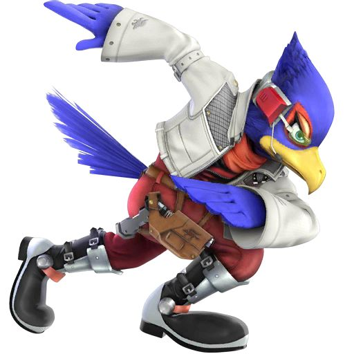 Falco of Starfox - Super Smash Bros