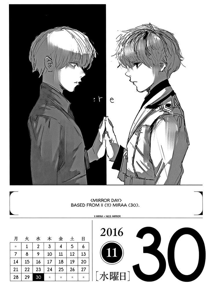 Tokyo Ghoul 366 Days Calendar 2016 - November - Album on Imgur