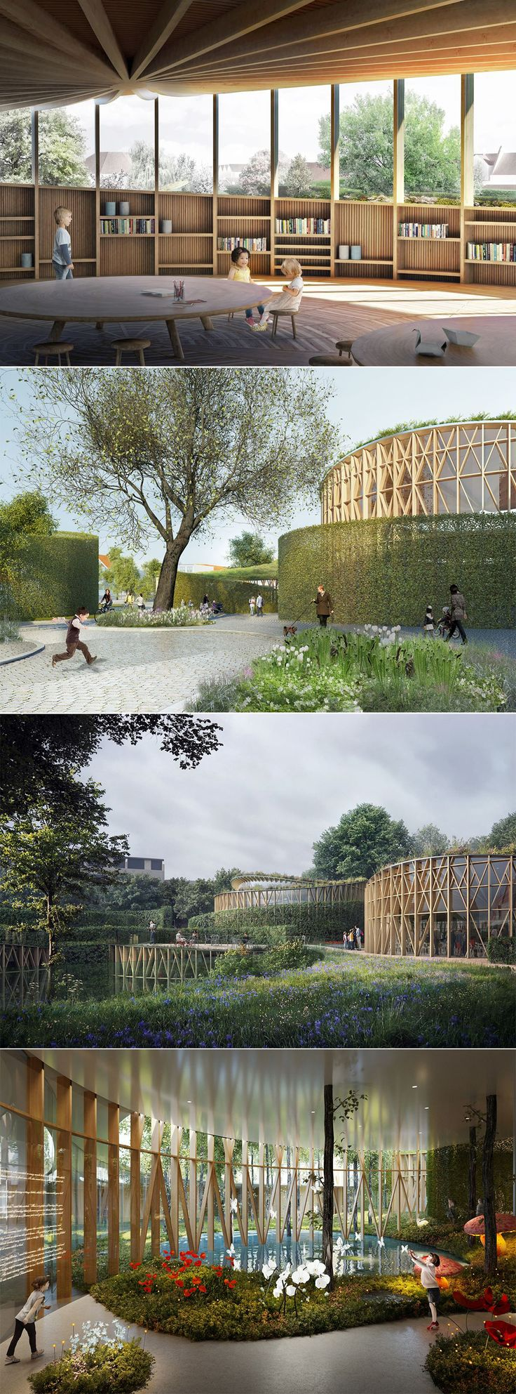 #KengoKuma won the contest to redesign #HansChristianAndersen #Museum centred on the world of #fairytales