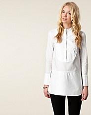 Hayley Shirt - Bruuns Bazaar - Valkoinen - Paitapuserot & kauluspaidat - Vaatteet - NELLY.COM