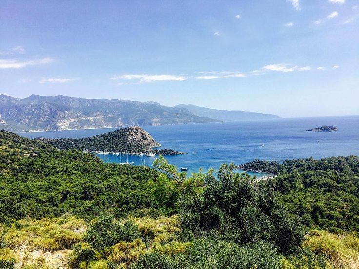 Good morning from St. Nicholas (#Gemiler) Island near #Oludeniz #Kayakoy #Fethiye #Turkey (photo by @kbraugurr)