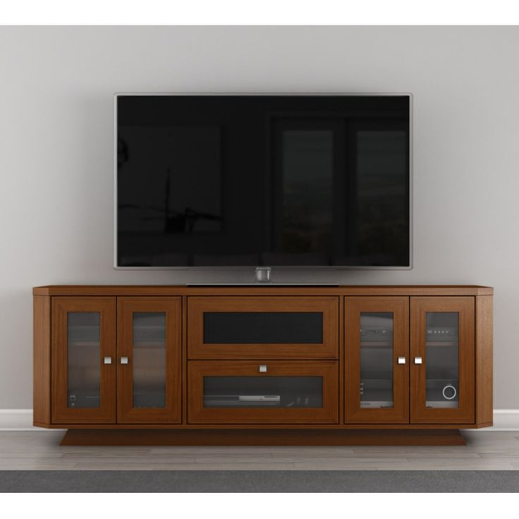 Furnitech Transitional 70 Inch TV Stand - FT71CRCLC
