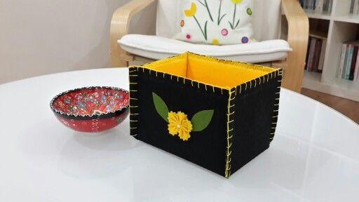Keçe kutu felt box
