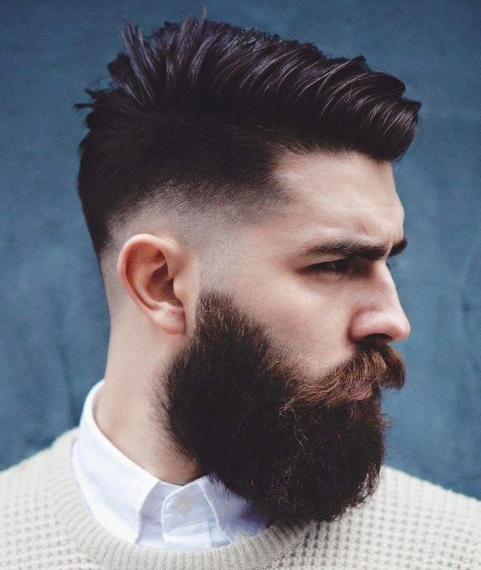 Drop Fade Haircut With Side Parting | Drop Fade Haircuts – What They Are, And Wh…