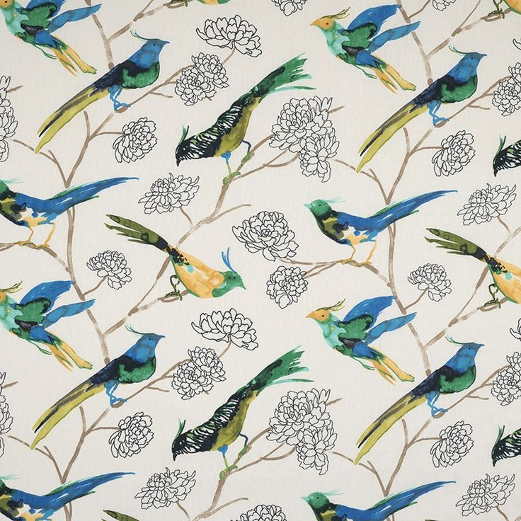 Fiorella Oasis (12213-102) – James Dunlop Textiles | Upholstery, Drapery & Wallpaper fabrics