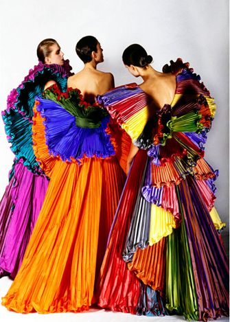 Roberto Capucci gowns