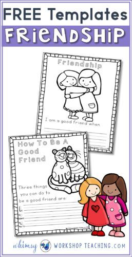 Do you promote friendship and kindness in your classroom? I use these writing templates for writing about being a good friend, and also on Valentines Day! Free download