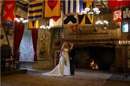 How cool would it be to be married at a real castle?!?!