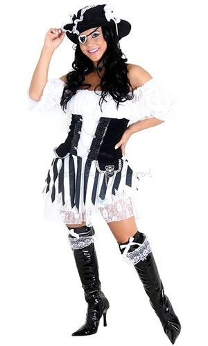 Fantasia Pirata Black Adulto Feminino Heat Girl Original<br><!--IDCategoria=213640--><br><!--IDCategoria=217586--><br><!--IDCategoria=219108--><br><!--IDCategoria=217657--><br><!--IDCategoria=217661-->