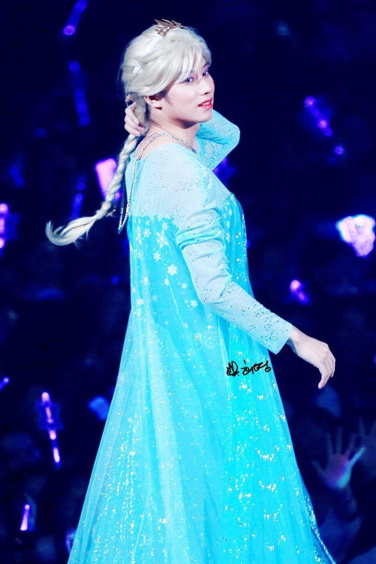 Картинки по запросу Super Junior Heechul - Elsa