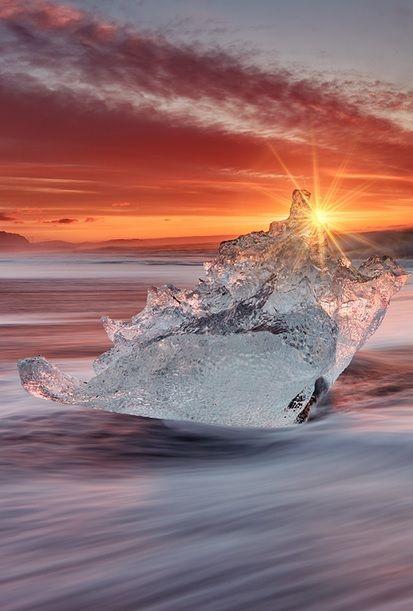 Jokularlon, Iceland,  by Evgueni Strok, on 500px.(Trimming)