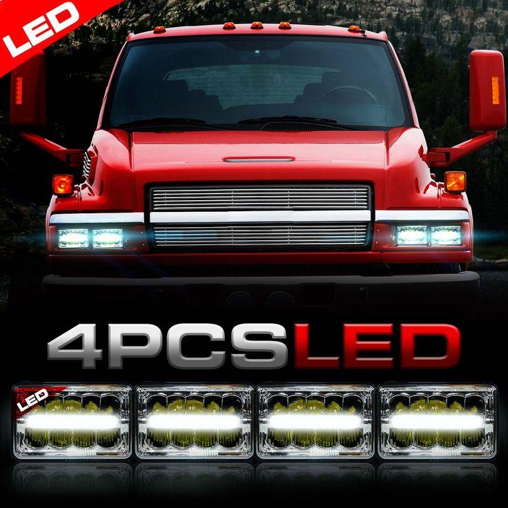 H6014 H6052 H4651 H4642 LED Headlights that fit the Kodiak Trucks