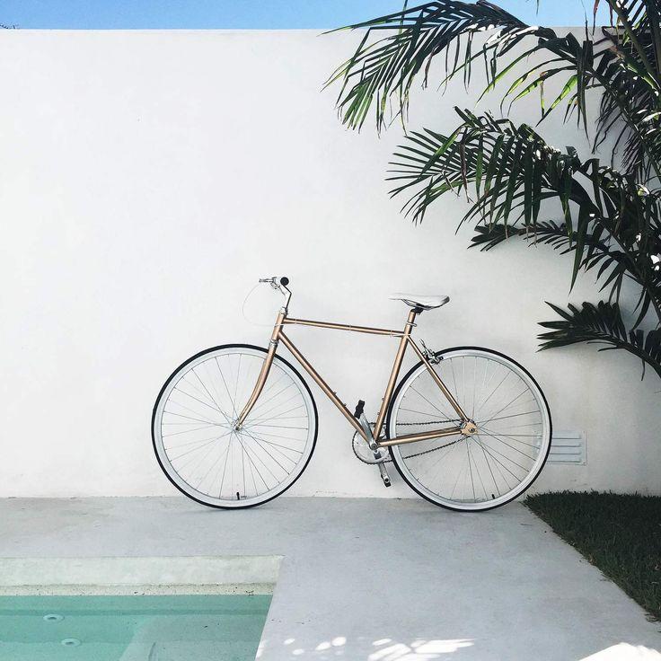 copper bike | slightly garden obsessed
