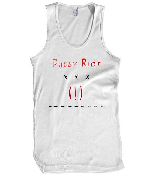 Pussy Riot Store — Logo Tank