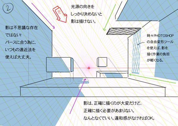 """ThomasRomain ロマン・トマさんはTwitterを使っています: """"背景の影の話を日本語でまとめてみました。 http://t.co/JnmNPX9O7q"""""""