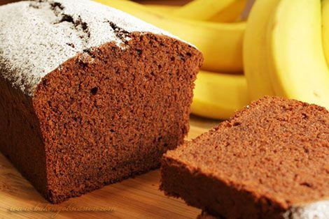 Chocolate and Grand Marnier Banana Cake