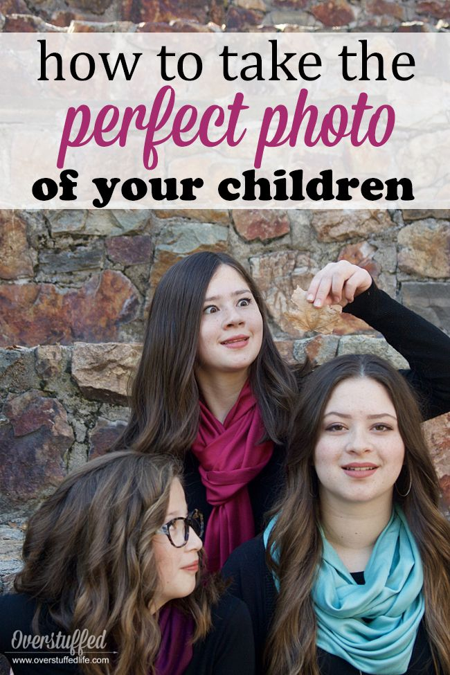 How to Take the Perfect Photo of Your Kids