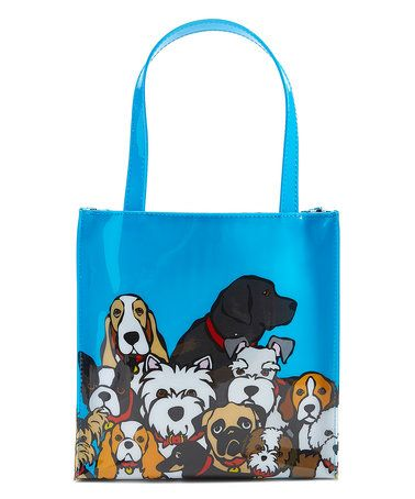 Blue Dogs Insulated Lunch Tote #zulily #zulilyfinds