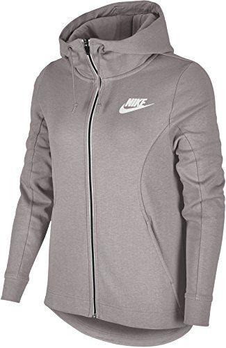f439668e9b9f Nike Advance Sweat-Shirt à Capuche Femme Particle Rose White FR (Taille  Fabricant   XS)