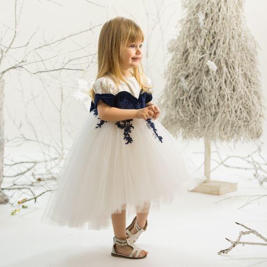 """""""Blue Sapphire"""" Dress Photo: Poze cu Staif Decorations: Atelier Florens Model: Iris"""