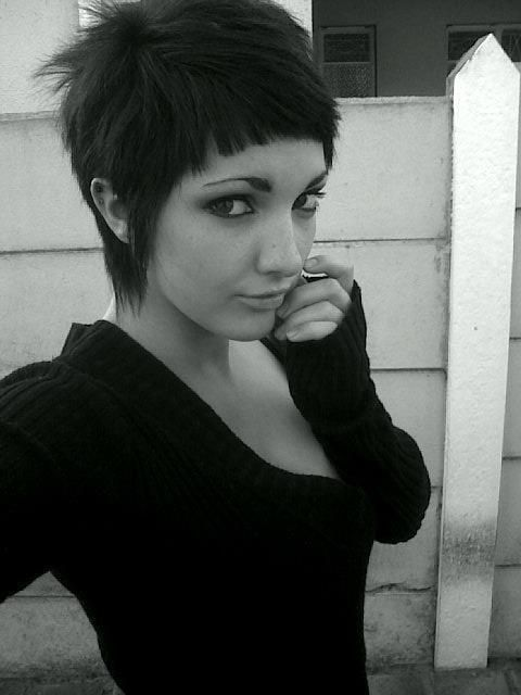 Hair in the March holidays 2012 | We Heart It | black hair, emo …