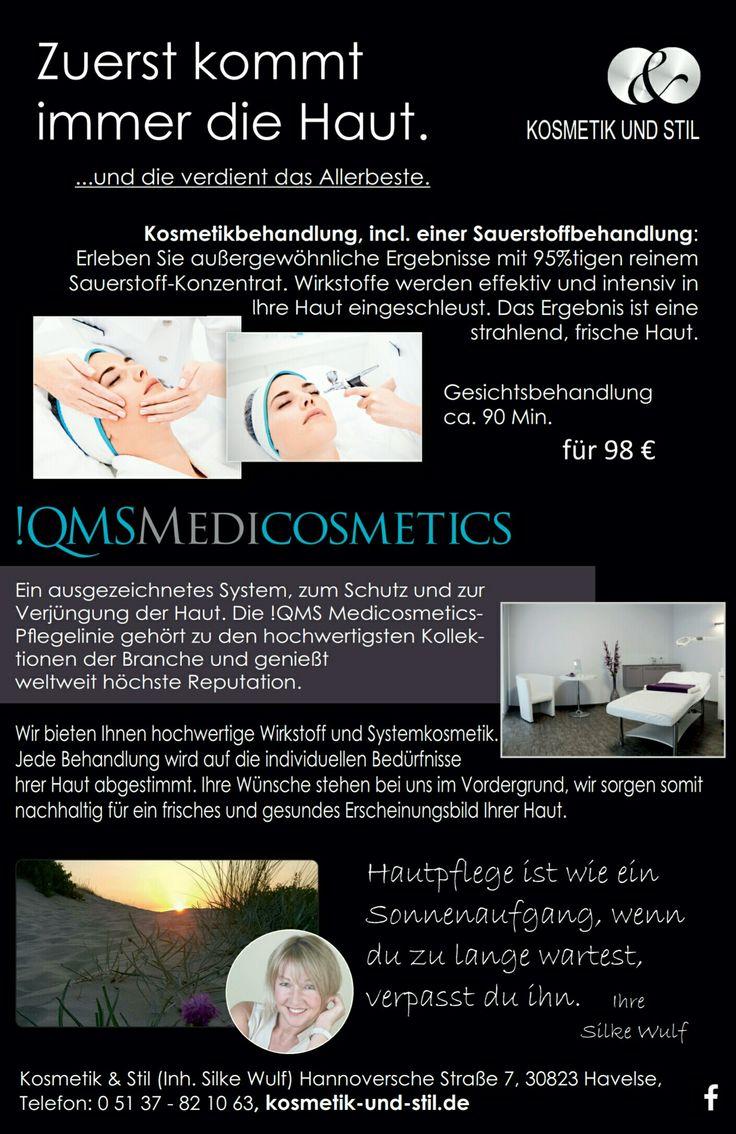 Behandlungen http://www.kosmetik-und-stil.de/qms-medicosmetics/behandlungen/ Die einzigartigen !QMS Gesichtsbehandlungen sind über viele Jahre perfektioniert worden, um eine Hautpflege-Erfahrung zu entwickeln, welche bessere Ergebnisse des Hauterscheinungsbildes und dem Wohlbefinden der Haut liefert. #qmsmedicosmetics #smfland #smf #hannover #kosmetik #kosmetikundstil #beauty #wellness #steinhudermeerflair