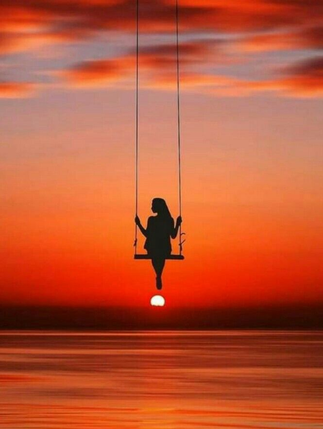 Sunset Art Sunset Painting Moonlight Photography Silhouette Photography