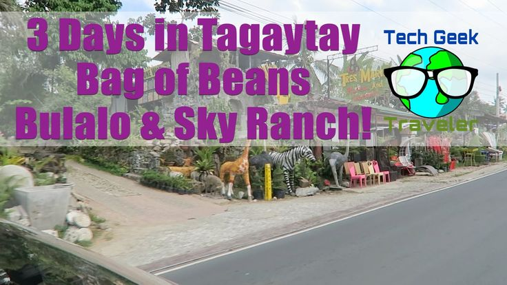 Manila to Tagaytay, Bag of Beans, Sky Ranch, Bulalo | S1:E7:V7 (Philippines, Tech Geek Traveler) - WATCH VIDEO HERE -> http://philippinesonline.info/travel/manila-to-tagaytay-bag-of-beans-sky-ranch-bulalo-s1e7v7-philippines-tech-geek-traveler/    – (#Philippines, #Manila) Follow Max and a good friend travel to Tagaytay from Manila to enjoy what other Filipinos enjoy… Holiday time & some volcanic ash.  No really.  First of all, Tagaytay is a popular holiday to
