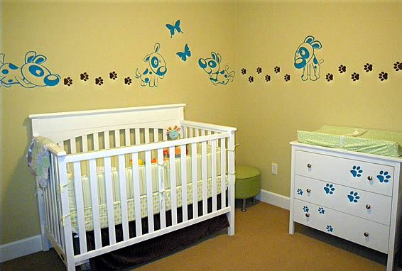 Nursery Wall Decals Personalize Your Baby's Nursery In Seconds