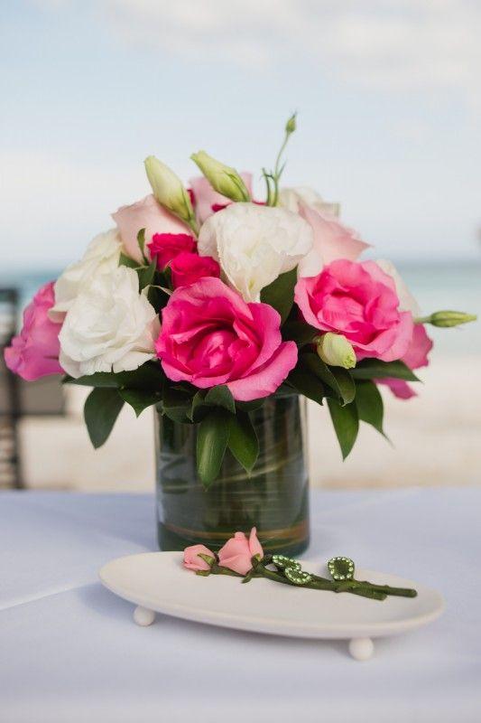 Flower Arrangement Mexico Wedding By Www Weddingsontach Mx Photographer Artea