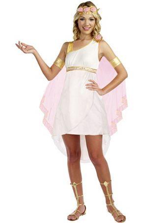 Girl's Teen Goddess of Glam Costume   Wholesale Greek/Roman Halloween Costumes for Teen
