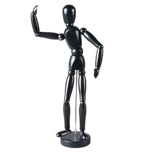 Kdo by neznal deokrativní dřevěnou figurku Gesalta. Jednoduchá, dynamická a krásná. Cena je 199 Kč; Ikea