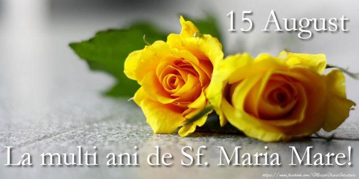 15 August La multi ani de Sf. Maria Mare!