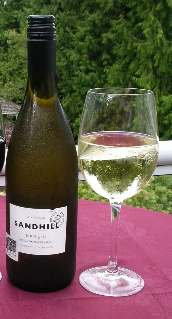 Sandhill Pinot Gris is a bright, straw yellow colour with fresh aromas of Bartlett pear, ripe apple, white peach and a touch of tropical fruit. It's a medium-bodied wine with refreshing acidity and flavours of green apple, green pear and honeydew melon. Hints of spice linger on the oily and textural finish. Can be found in the Westward Ho! by the glass or bottle.