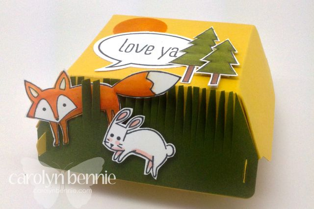 Hamburger Life in the forest Carolyn Bennie - Australian Independent Stampin' Up! Demonstrator carolynbennie.com