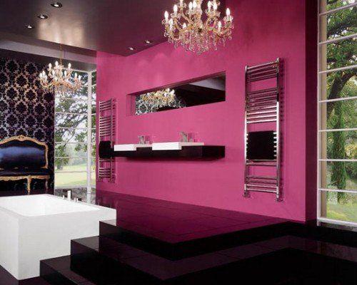 Pink Bathroom | Beautiful Homes Design